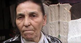 Seller at the Sheep Wool market in Nalchik. Screenshot from video: https://www.youtube.com/watch?time_continue=277&v=WLwj5-d8ldE
