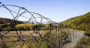 South Ossetia-Georgia border. Photo: Sputnik / Natalia Airiyan, https://sputnik-ossetia.ru/South_Ossetia/20180505/6325992.html