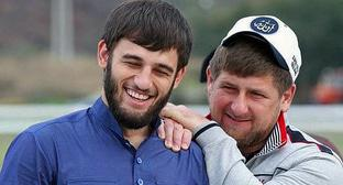 Ibragim Zakriev and Ramzan Kadyrov (on the right). Photo https://twitter.com/SvobodaRadio/status/833650104997388288
