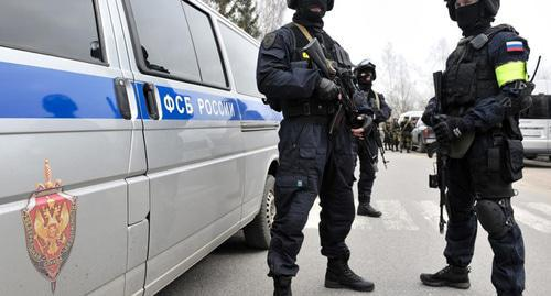 Agents of Russia's FSB. Photo: RFE/RL