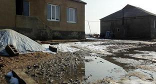 Houses built for resettlers from the Novolak District. Photo by Patimat MAkhmudova for the Caucasian Knot
