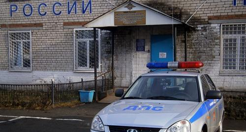 A police department in the Shali District. Photo https://66.мвд.рф/news/item/1322005/Nashi_proekti/