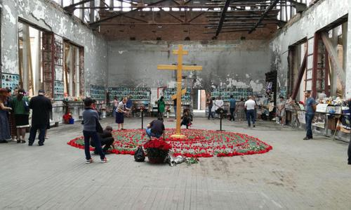Memorial in Beslan, September 1, 2018. Photo by Emma Marzoeva for the Caucasian Knot