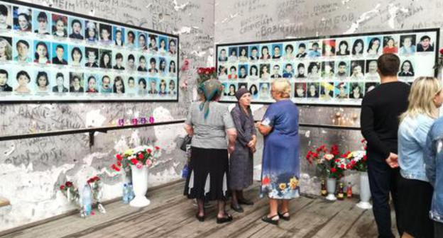 14th anniversary of Beslan terror attack, September 1, 2018. Photo by Emma Marzoeva for the Caucasian Knot