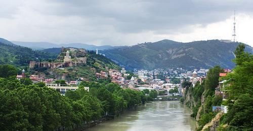 Tbilisi. Georgia. Photo: Levan Gokadze https://ru.wikipedia.org
