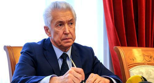 Vladimir Vasiliev. Photo: press service of the Government of Dagestan, https://www.riadagestan.ru