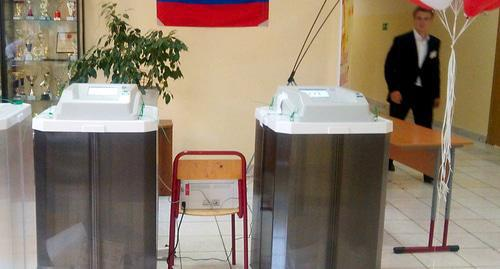 Polling station. Photo by Nina Tumanova for the Caucasian Knot
