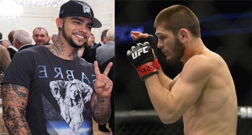 Timati and Khabib Nurmagomedov. Collage by the Caucasian Knot. Photo: Kremlin.ru https://ru.wikipedia.org,  Gary A. Vasquez-USA TODAY Sports/REUTERS