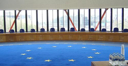 A court hall. The European Court of Human Rights. Photo: Djtm https://ru.wikipedia.org