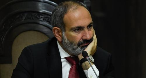 Nikol Pashinyan. Photo: Asatur Yesayants/ Sputnik