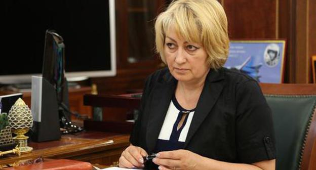 Marifa Sultygova. Photo: press service of Ingushetia leadership