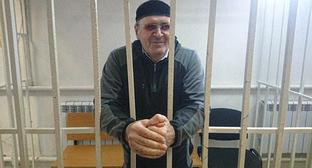 "Oyub Titiev. Photo by the press service of the Human Rights Centre ""Memorial"""