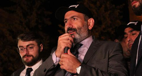 "Nikol Pashinyan. Photo by Tigran Petrosyan for the ""Caucasian Knot"""