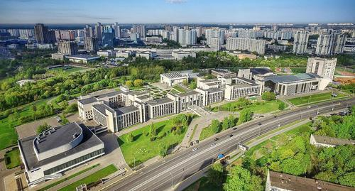 MGIMO University in Vernadsky Avenue, Moscow. Photo: Victoria 959 https://ru.wikipedia.org/wiki/МГИМО