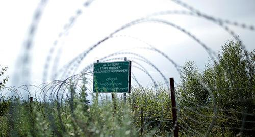 South Ossetia-Georgia border. Photo: REUTERS/David Mdzinarishvili