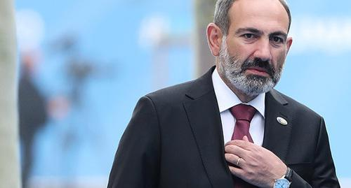 Nikol Pashinyan. Photo: Tatyana Zenkovich/Pool via REUTERS