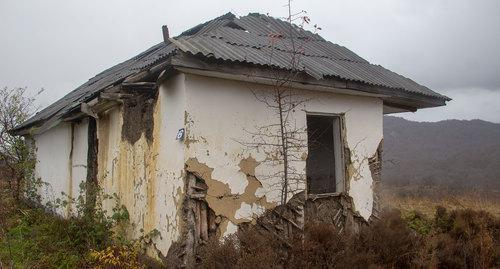 House in the village of Dattykh. Photo by Zurab Pliev for the Caucasian Knot
