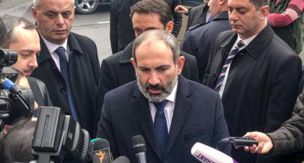Nikol Pashinyan. Photo Sputnik / Aram Nersesyan ,