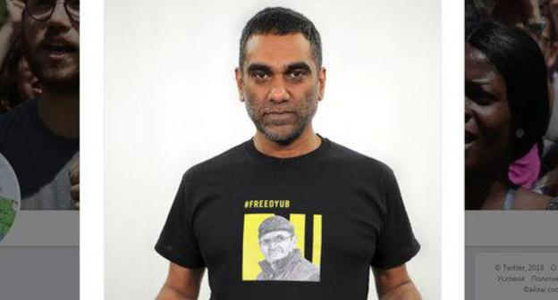 Kumi Naidoo. Photo: screenshot https://twitter.com/kuminaidoo/status/1071848070122491905?s=12