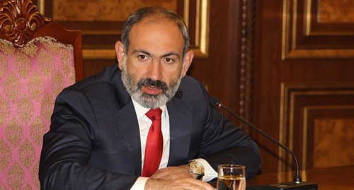 Nikol Pashinyan. Photo by Tigran Petrosyan for the Caucasian Knot
