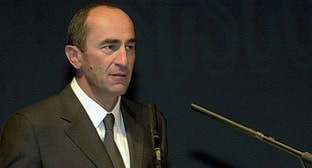 Robert Kocharyan. Photo © : administration of Robert Kocharyan https://ru.armeniasputnik.am/politics/20180813/13835702/ehks-prezident-armenii-robert-kocharyan-vypushchen-na-svobodu.html