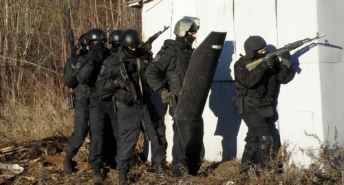 Law enforcers. Photo: press service of the Russian National Antiterrorist Committee, http://nac.gov.ru/fotomaterialy@page=1.html#&gid=1&pid=8