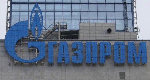 Gazprom logo. Photo: REUTERS/Maxim Zmeyev