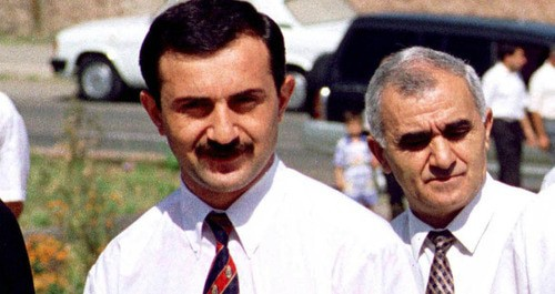 Samvel Babayan (left). Photo: Reuters/Str Old
