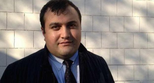 Elchin Sadygov, Anar Mamedov's advocate. Photo by the press service of the Amnesty International https://amnesty.org.ru/