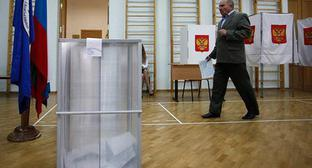 At a polling station. Photo: Vlad Alexandrov, Yuga.ru