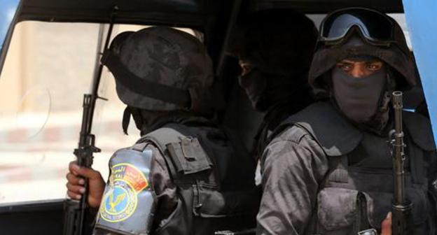 Special force agents. Photo: REUTERS/Mohamed Abd El Ghany