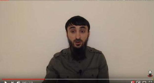 Screenshot of Tumso Abdurakhmanov's video posted on YouTube on April 10 https://www.youtube.com/watch?v=D9EzirHECXY