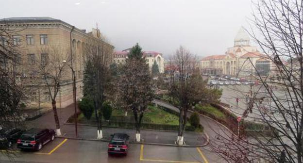 "A view of Stepanakert. Photo by Alvard Grigoryan for the ""Caucasian Knot"""