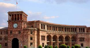 The building of the Government of Armenia. Photo http://www.gov.am/ru