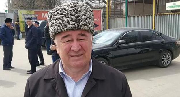 Unknowns take away head of Ingush Council of Teips