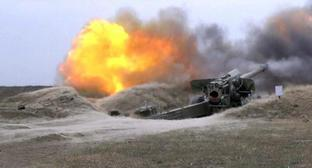 Military exercises of the Azerbaijani army. Photo by the Ministry of Defence for Azerbaijan, https://mod.gov.az