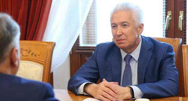 Vladimir Vasiliev. Photo: press service of the Plenipotentiary of the President of the Russian Federation in the North Caucasian Federal District SKFO.gov.ru