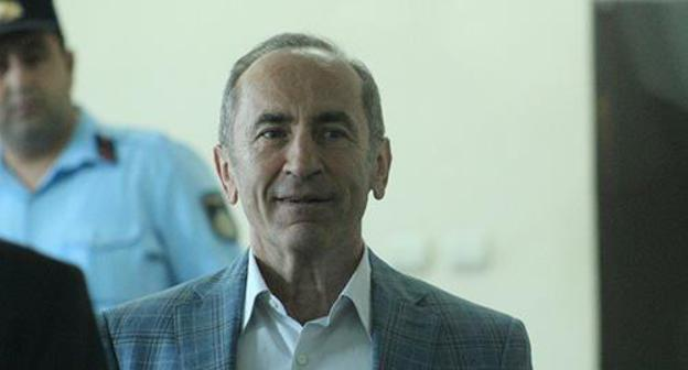 "Robert Kocharyan in the courtroom. May 14, 2019. Photo by Tigran Petrosyan for the ""Caucasian Knot"""