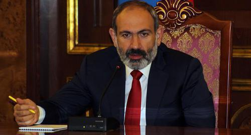 Prime Minister of Armenia Nikol Pashinyan. Photo by Tigran Petrosyan for the Caucasian Knot