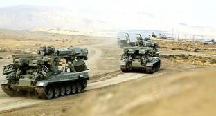 Military exercises in Azerbaijan. Photo: press service of the Ministry of Defence of Azerbaijan, https://mod.gov.az/ru/news/nachalis-shirokomasshtabnye-operativno-takticheskie-ucheniya-azerbajdzhanskoj-armii-video-26924.html