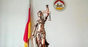 Goddess of justice in the Supreme Court of South Ossetia. Photo: press service of the Supreme Court of South Ossetia