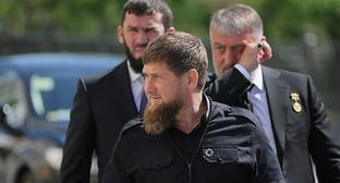 Ramzan Kadyrov. Photo: Sputnik/Sergei Savostyanov/Pool via REUTERS