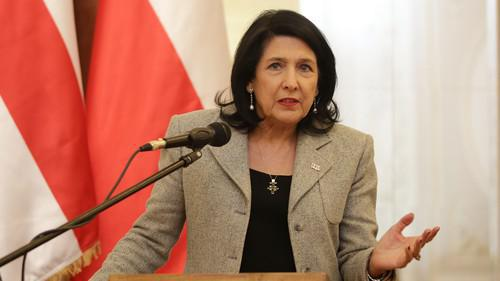 Salome Zurabishvili. Photo: press service of the President of Georgia,  https://www.president.gov.ge