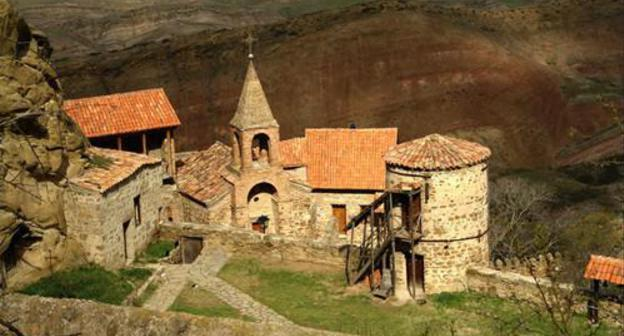 "Georgian Patriarchate reports base of facility by ""David Gareja"" byzantine"