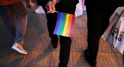 Rainbow flag. Photo: REUTERS/Ann Wang