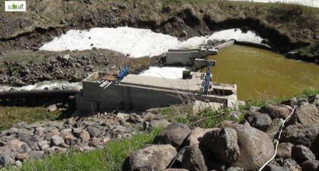 Armenian villagers be imminent en route for adjust riverbed en route for bar two HPPs