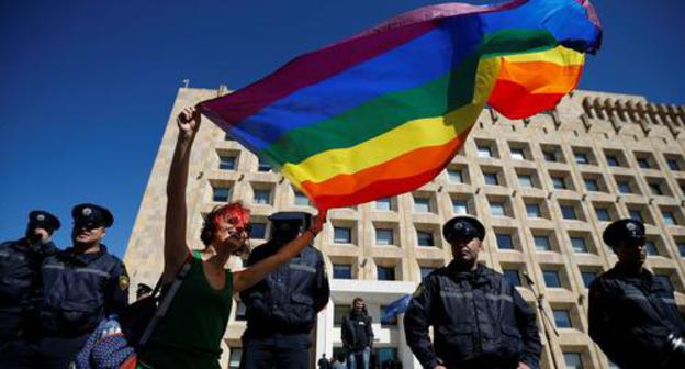"""Patriarchate afterwards """"Georgian March"""" address adjacent to LGBT accomplishment all the rage Tbilisi"""