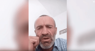 "Screenshot of a video posted on the YouTube entitled ""Harsh answer to Ramzan Kadyrov from Dagestan"" https://youtu.be/o-pwzGBsG1g"