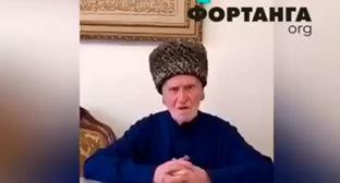 Sarazhudin Pogorov. Screenshot from video posted by FortangaORG https://www.facebook.com/watch/?v=428296918006319