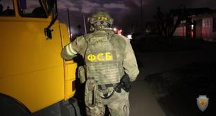 FSB agent takes part in special operation. Photo: press service of the National Antiterrorism Committee, http://nac.gov.ru/fotomaterialy@page=2.html#&gid=1&pid=3